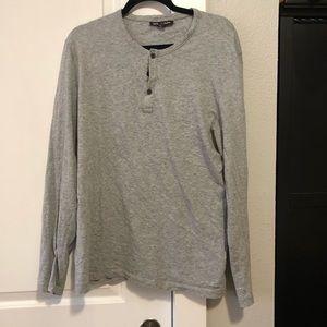 Michael Kors Button Long Sleeve T-Shirt - Size XL